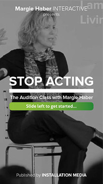 Margie Haber - Stop Acting
