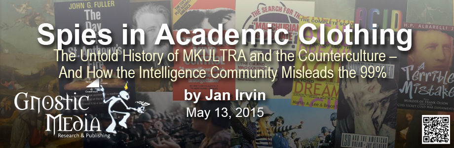 Jan Irvin - Spies in Academic Clothing (banner)
